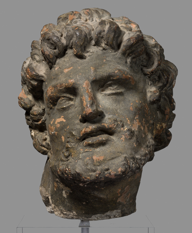 Sculpture – Head of a Man (Saint John the Baptist ?)
