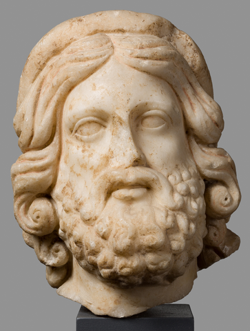 Head of a Man – Asclepius