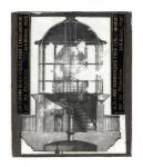 Magic lantern glass slide