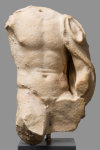 Statuette – Seated man figure